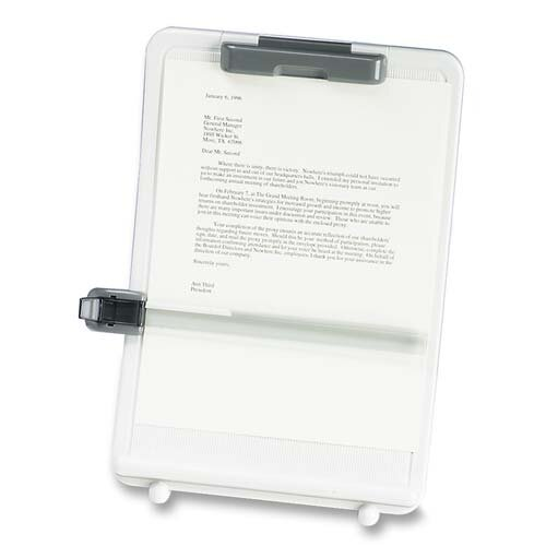 Compucessory Compucessory Adjustable Super-Curve Copyholder, Putty