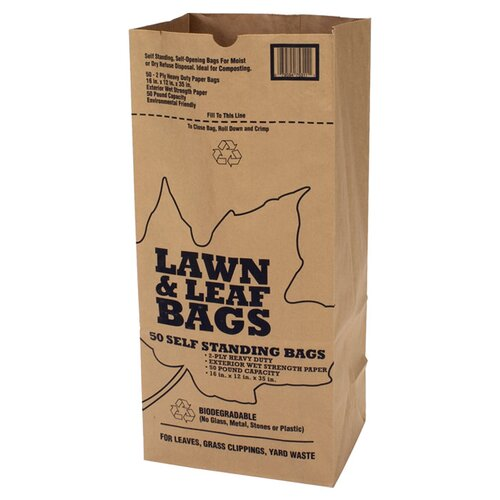 R3 Safety Redistribution Lawn and Leaf Bag