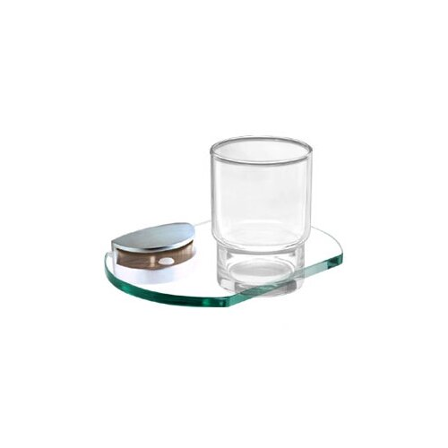 Alno Inc Euro Tumbler Holder with Tumbler