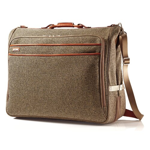 Tweed Belting Garment Bag
