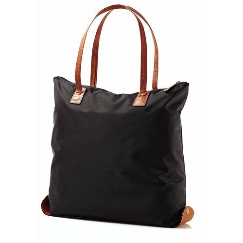 Hudson Belting Folding Shopper Tote Bag
