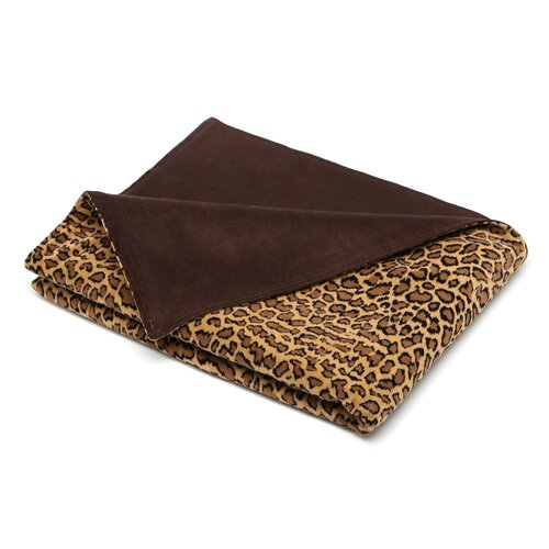 Bobcat Polyester Topstitched Throw