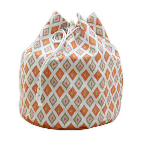 Carnival Gumdrop Round Laundry Bag with 4 Grommets