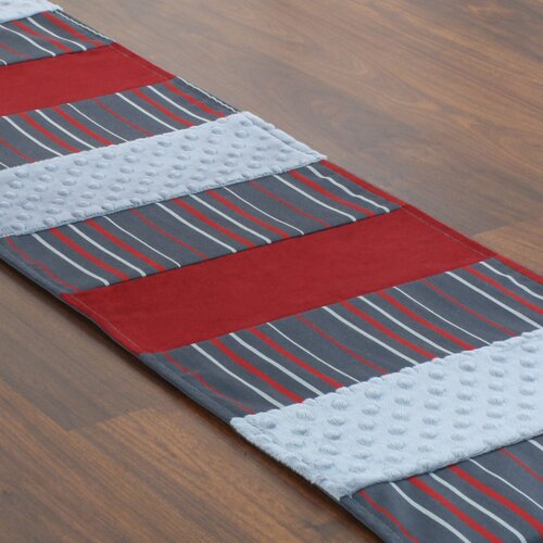Chooty & Co Multi Stripe Pieced Table Runner