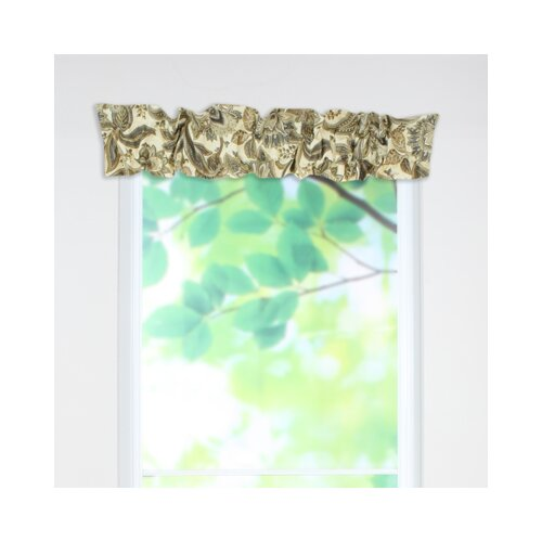 "Chooty & Co Valdosta Sleeve Topper 54"" Curtain Valance"