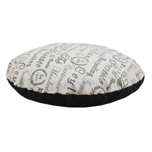 Tea House Polyester Round Floor Pillow