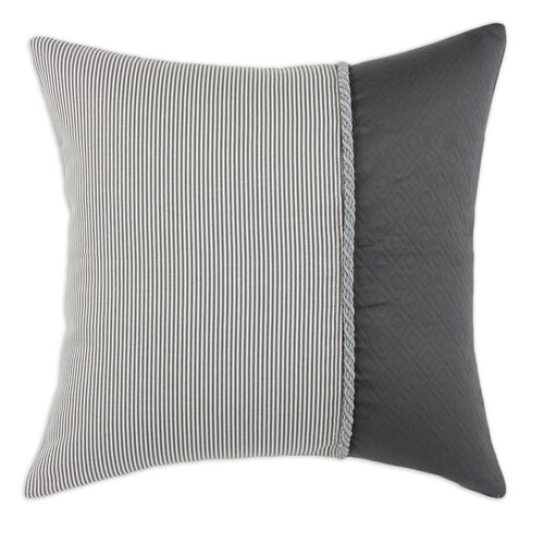 Chooty & Co Oxford Hyannis Vertical Twist Cotton/Polyester Pillow