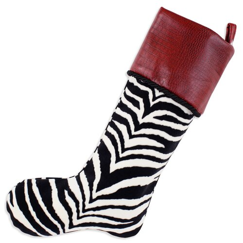 Chooty & Co Zebra Lined Stocking