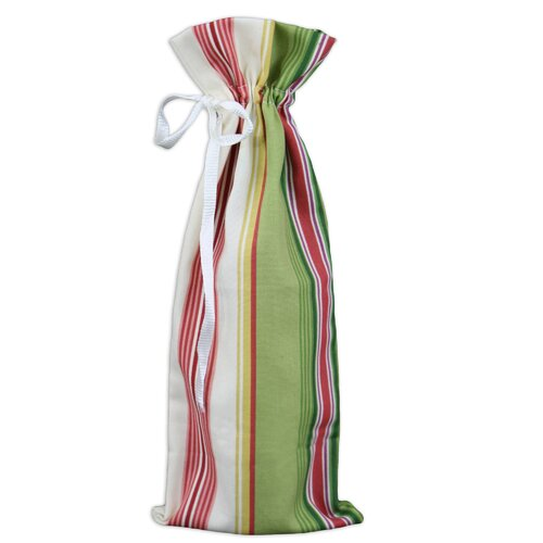 Chooty & Co Andari Stripe Wine Bag