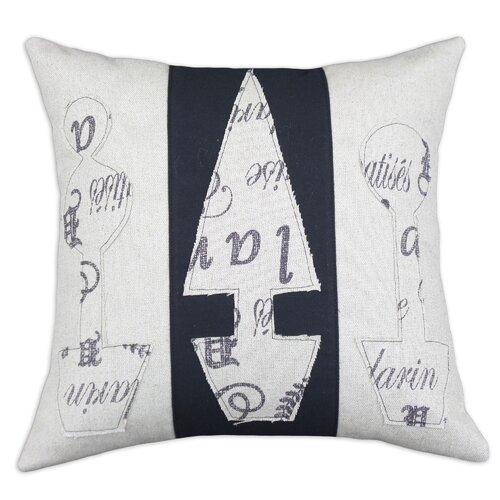 Chooty & Co Wisdom Burlap Linen Pillow