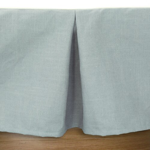 Chooty & Co Circa Solid Linen Pleated Bed Skirt