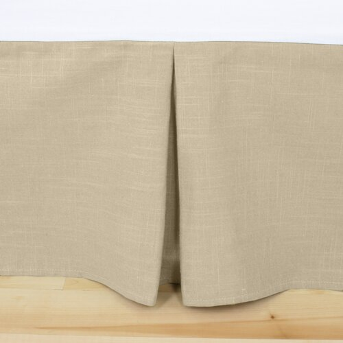 Jefferson Linen Pleated Bed Skirt