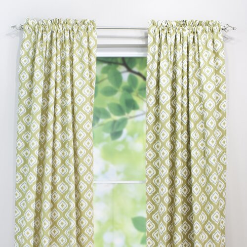 Chooty & Co Macie Linen Rod Pocket Curtain Single Panel