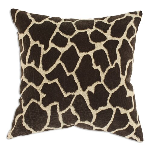 Giraffe Polyester/Cotton KE Pillow