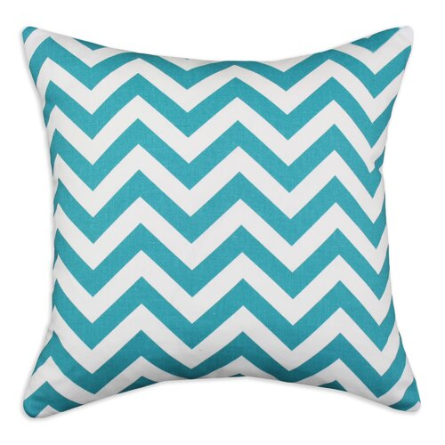 Chooty & Co Zig Zag Cotton Pillow