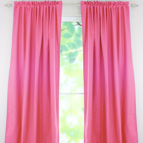 Chooty & Co Duck Cotton Rod Pocket Curtain Single Panel