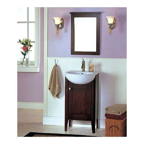 "Fairmont Designs Tuxedo 20"" Complete Bathroom Vanity Set"