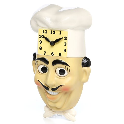 Chef Luigi Wall Clock