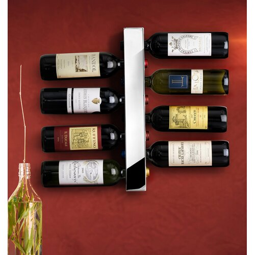 Vynebar 8 Bottle Wall Mounted Wine Rack
