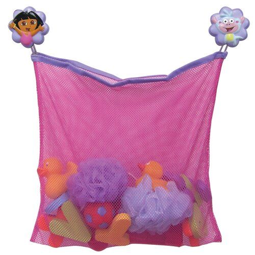 Ginsey Nickelodeon Dora the Explorer Bath Toy Organizer
