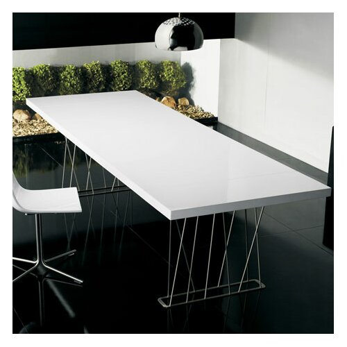 Luxo by Modloft Clarges Dining Table