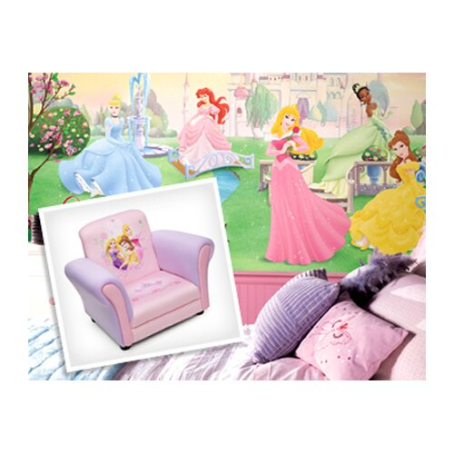 Room Mates 37-Piece Licensed Designs Disney Princess Wall Decal