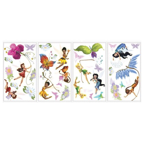Room Mates Licensed Designs Disney Fairies Wall Decal