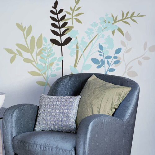 Room Mates 23 Piece Deco Branches Wall Decal Set