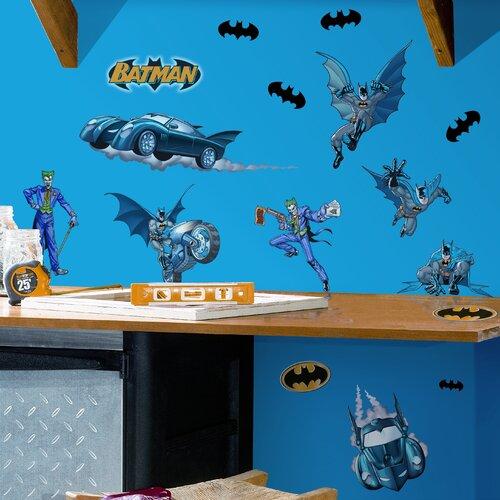Room Mates Favorite Characters 31 Piece Batman Gotham Guardian Wall Decal Set