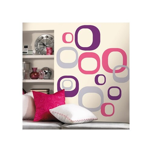 Room Mates Room Mates Deco 30 Piece Modern Ovals Wall Decal Set