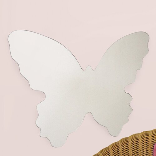 Wall Mirrors Butterfly Large Wall Decal