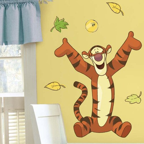 Room Mates Licensed Designs Tigger Giant Wall Decal