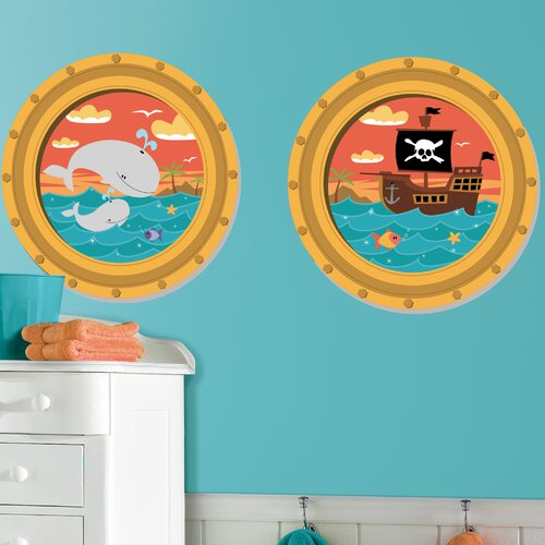 Room Mates High Seas Wall Decal