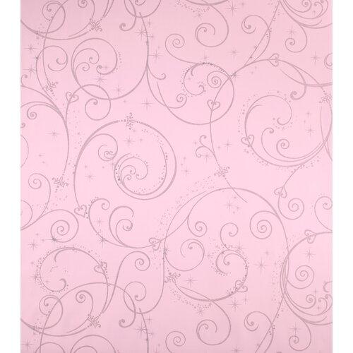 Room Mates Perfect Princess Scroll Wallpaper