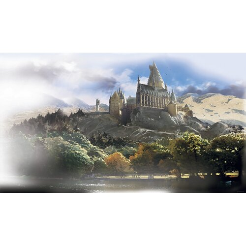 Room Mates Harry Potter Chair Rail Prepasted Wall Mural