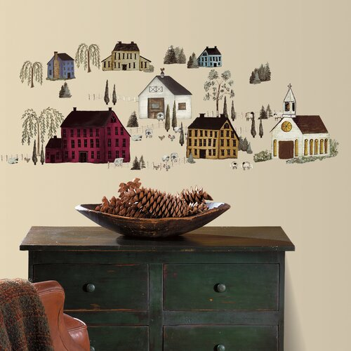 Country Scenic Wall Decal