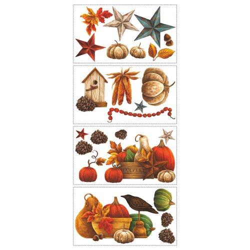 Room Mates Seasonal Bountiful 24 Piece Harvest Wall Decal Set