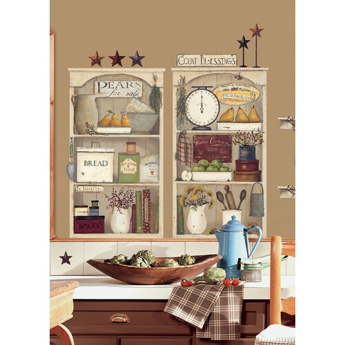 room mates 17 piece peel stick giant wall decals wall