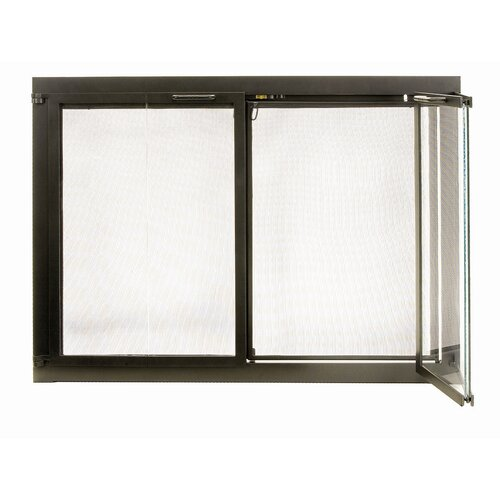 Pleasant Hearth Clairmont Fireplace Screen And Bi Fold