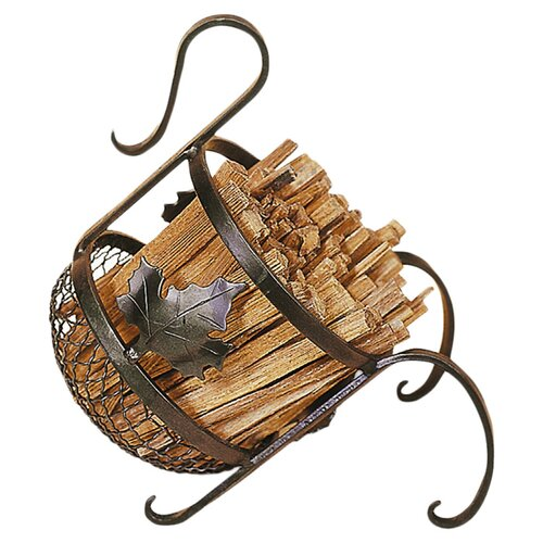 Minuteman International Wrought Iron European Fatwood Caddy