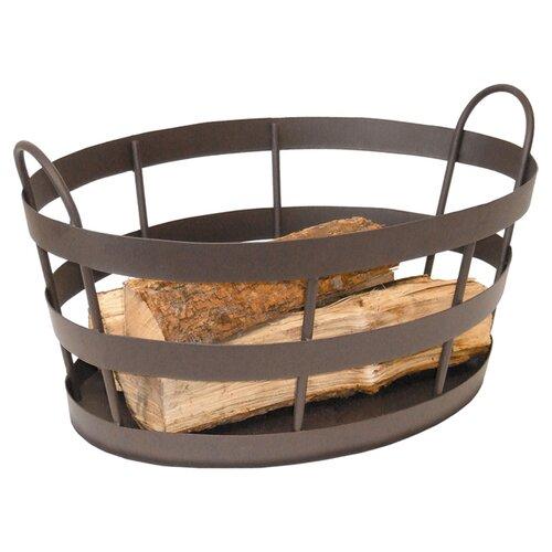 Wrought Iron Shaker Log Bin