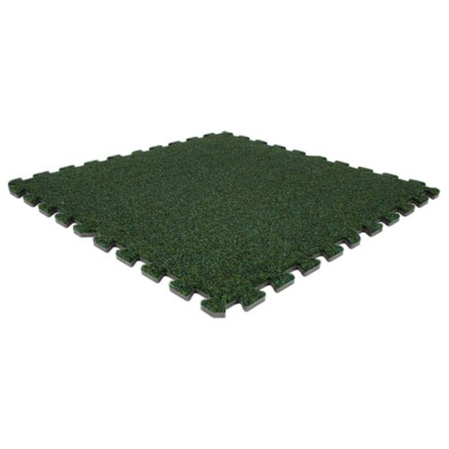 Alessco Inc. SoftCarpets Set in Grass Green