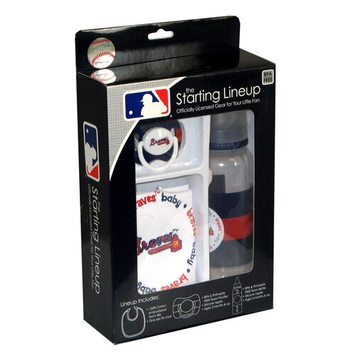 Baby Fanatic MLB Baby Gift Set