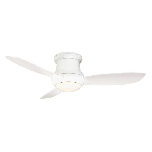 """Minka Aire 52"""" Concept II 3 Blade Outdoor Ceiling Fan with Wall Mount"""