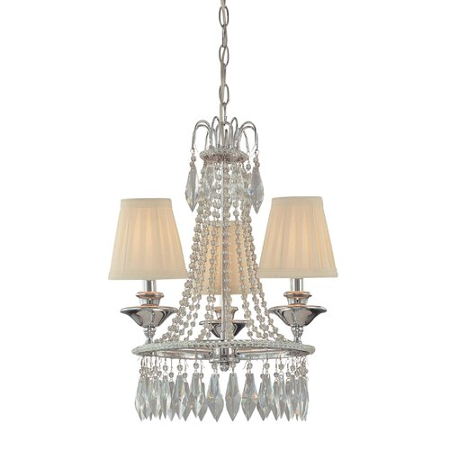 Minka Lavery 3 Light Mini Chandelier