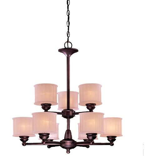 Minka Lavery 1730 Series 9 Light Chandelier