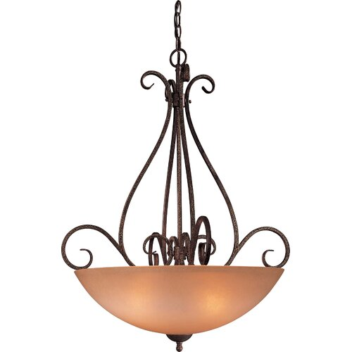 Caspian 4 Light Foyer Pendant