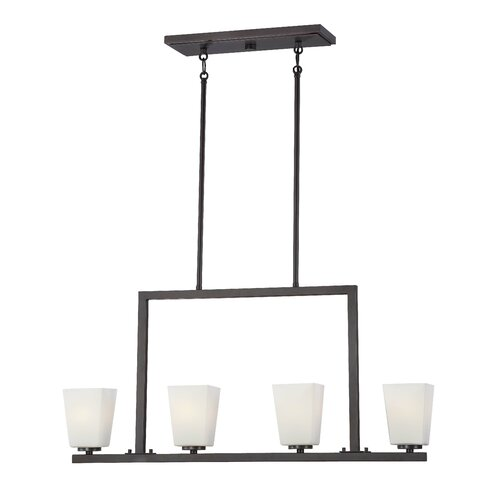 Minka Lavery City Square 4 Light Kitchen Pendant Lighting