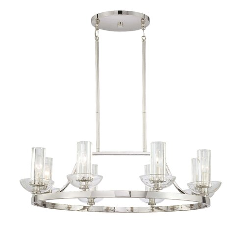 Minka Lavery Urban Nouveau 8 Light Chandelier