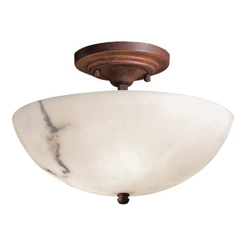 Minka Lavery Calavera 3 Light Semi Flush Mount